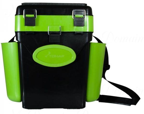"""Ящик зимний Helios """"FishBox"""" 10 л, зеленый"""