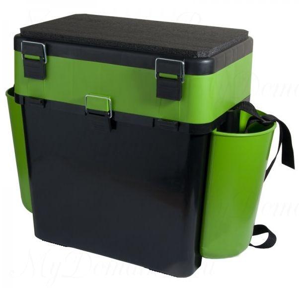 """Ящик зимний Helios """"FishBox"""" 19 л, зеленый"""