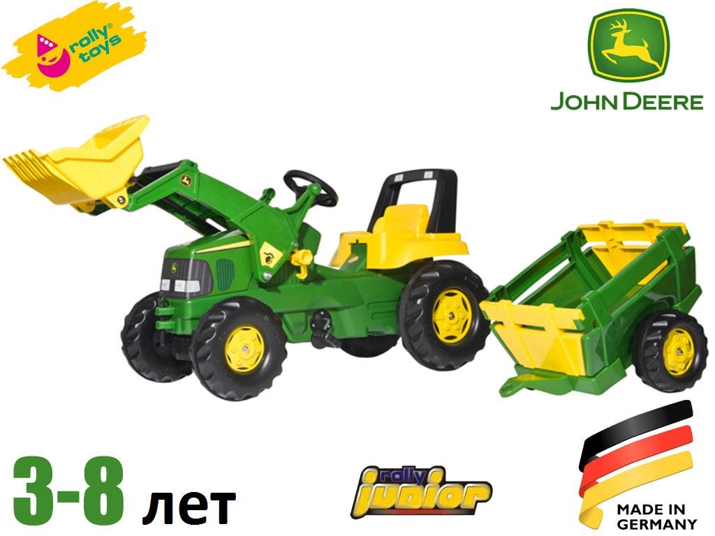 Трактор педальный с прицепом Rolly Toys 811496