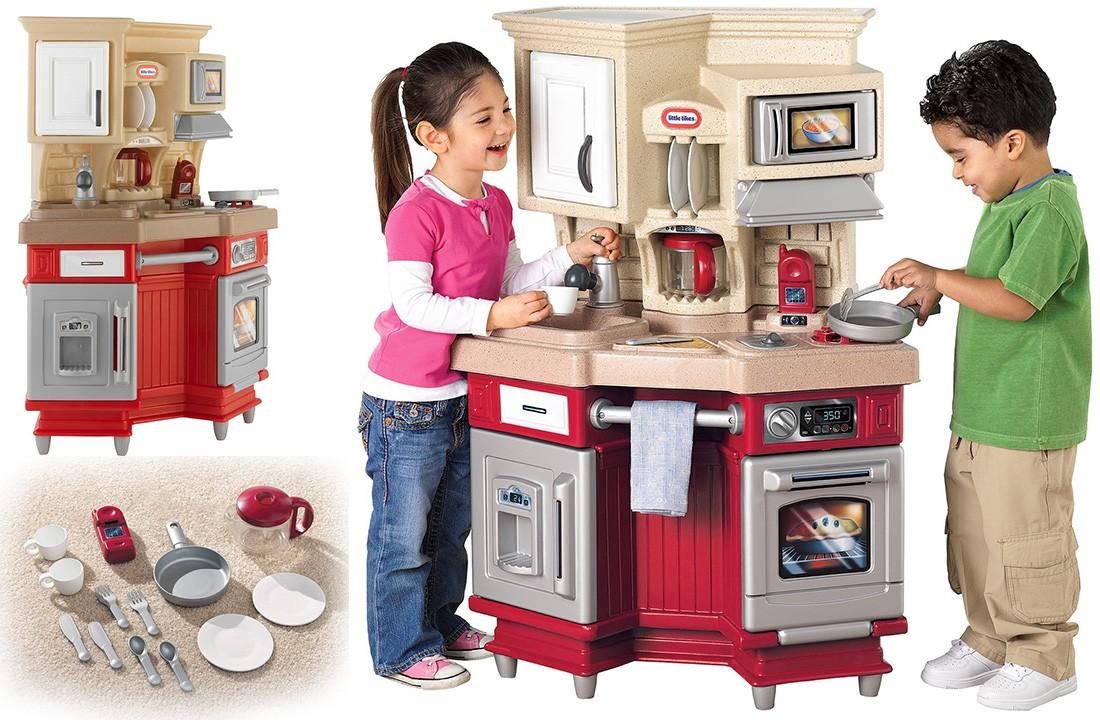 Кухня со звуковыми эффектами Little tikes 484377E3