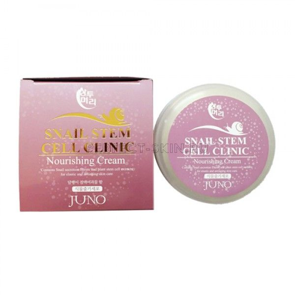 Juno Sangtumeori Stem Cell Clinic Nourishing Cream Snail