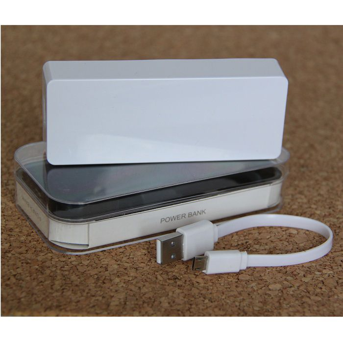 Портативное зарядное устройство Power Bank 6000 Mah