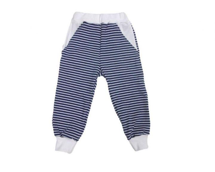 Штаны с карманами на широкой резине FC-ST810-RBk(pl) (рибана)