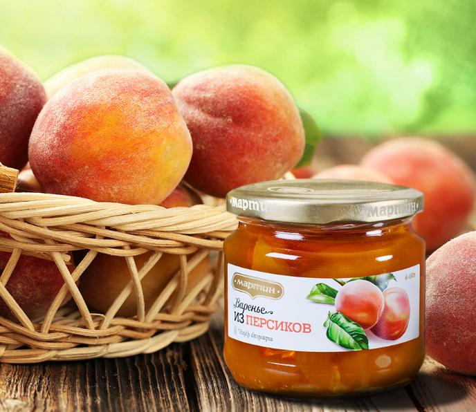 Варенье из персиков 450г