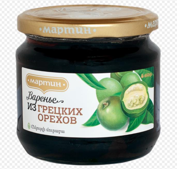 Варенье из зеленых грецких орехов 390г