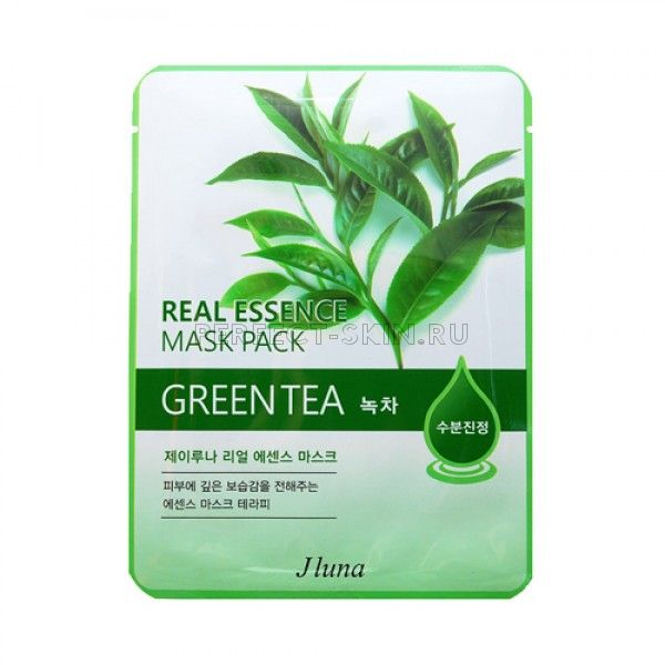 Juno Real Essence Mask Pack - Green Tea