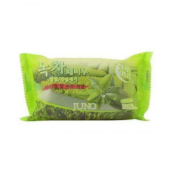 Juno Sangtumeori Peeling Soap Green Tea