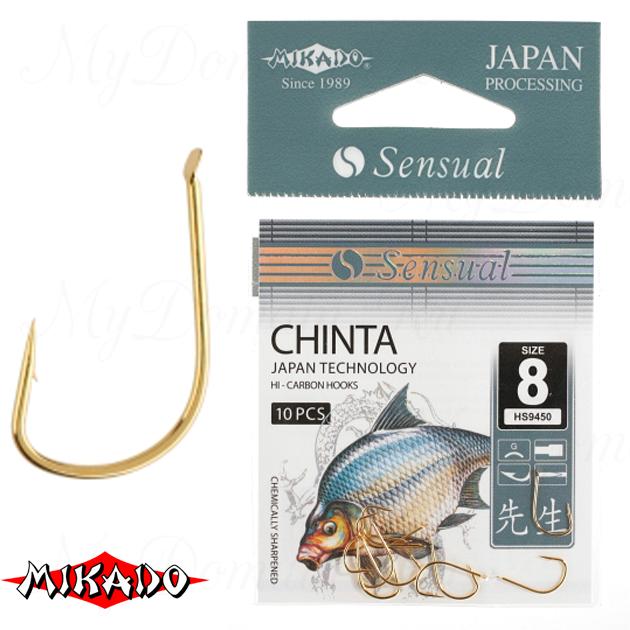 Крючки Mikado SENSUAL - CHINTA № 6 G (с лопаткой) уп.=10 шт., упак