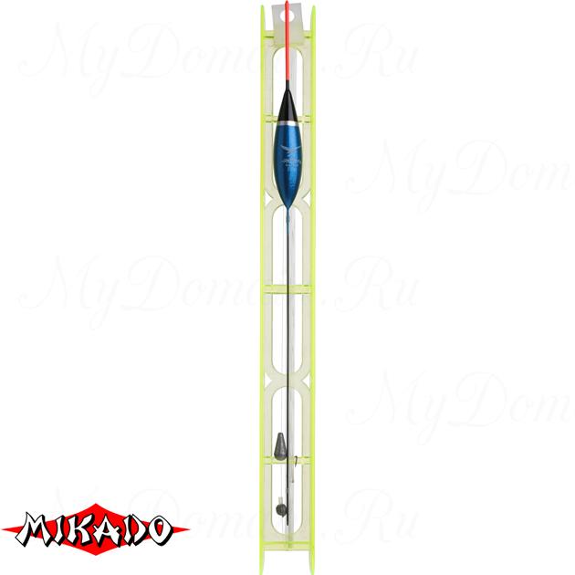 Оснастка для удочки Mikado 004 - 1.0 г. (леска 8 м., 0.14, поводок 0.10, крючок 12)  уп.=10 шт., шт