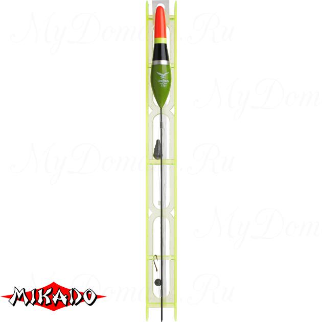 Оснастка для удочки Mikado 024 - 3.5 г. (леска 8 м., 0.16, поводок 0.14, крючок 10)  уп.=10 шт., шт