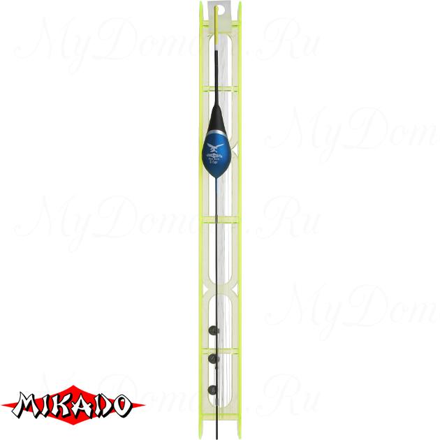 Оснастка для удочки Mikado 031 - 3.0 г. (леска 8 м., 0.14, поводок 0.12, крючок 12)  уп.=10 шт., шт