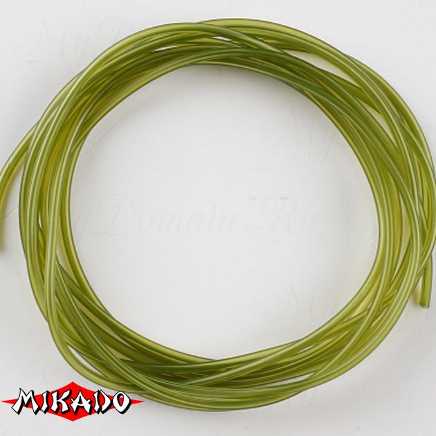 Балластная трубка-антизакручиватель Mikado 1.0 x 2.0 мм. 2 м. (светло-зелёный), шт