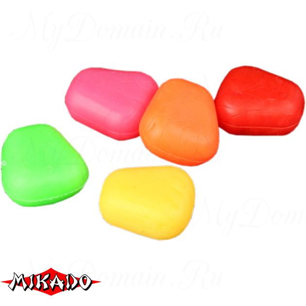 Кукуруза полиуретановая Mikado всплывающая (разноцветная)  уп.=15 шт., упак