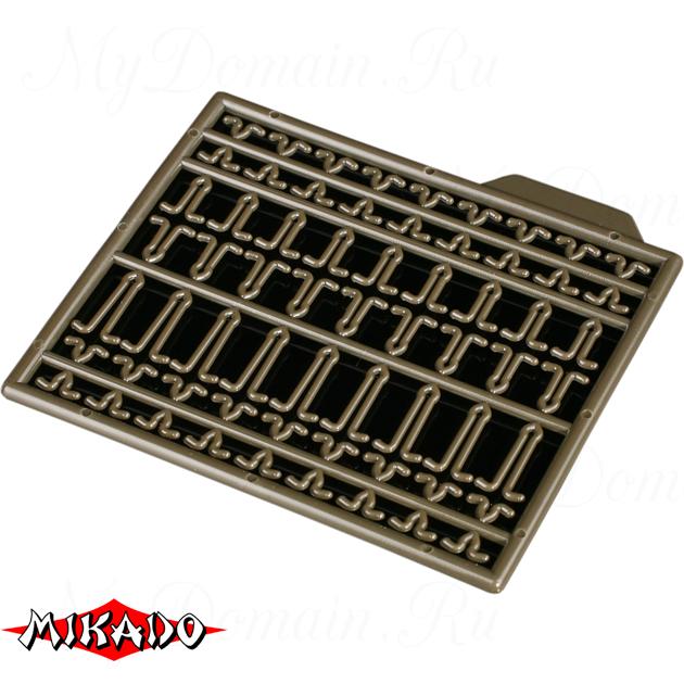 Фиксаторы для крепления бойлов Mikado (тёмно-зелёные) AMC-11504-07  уп.=2 шт., упак