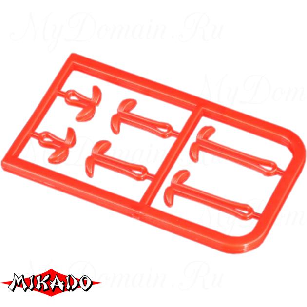Фиксаторы для крепления бойлов Mikado S/M/L (красные) AMC-9051-05  уп.=2 шт., упак