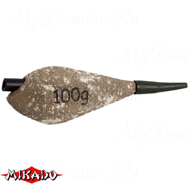 Грузило карповое сменное Mikado асимметричное (песочный) 22S  70 г.  уп.=10 шт., упак