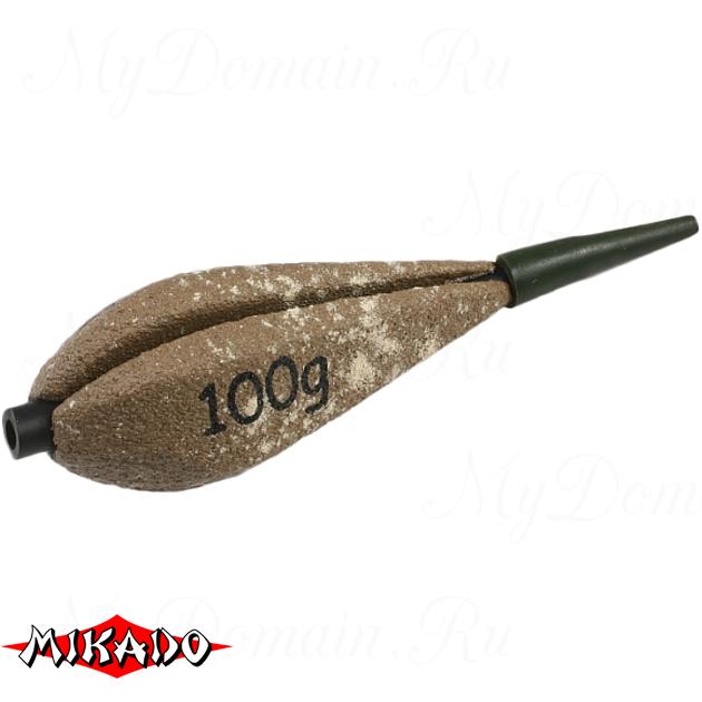 Грузило карповое сменное Mikado. отцентрованное (песочный) 25S  60 г.  уп.=10 шт., упак