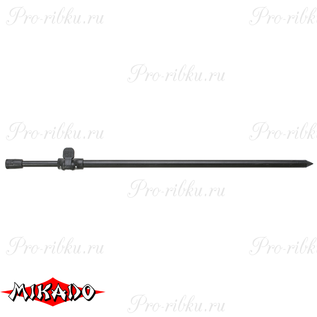 Колышек телескопический Mikado с клипсой quick lock 50 - 90 см., шт