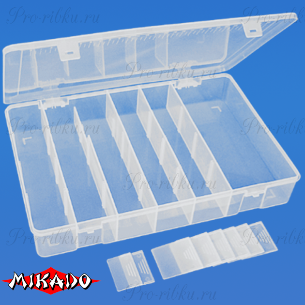Коробка рыболова Mikado ABM 313 (31.5 x 21.4 x 5 см.), шт