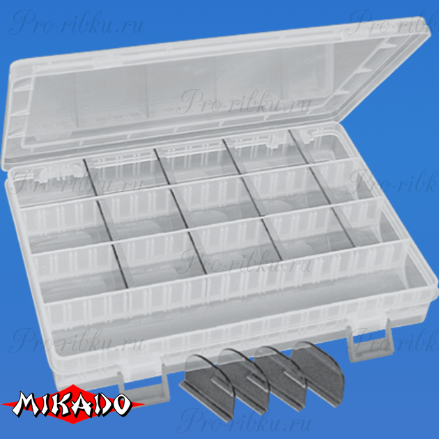 Коробка рыболова Mikado ABM 314 (25 x 18 x 4 см.), шт