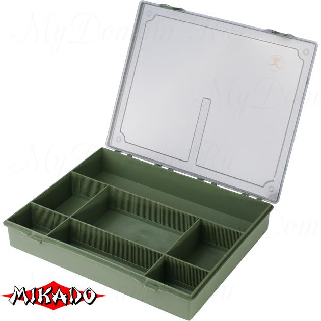 Коробка рыболова Mikado CA001 (36.5 x 30 x 5.5 см.), шт