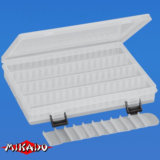 Коробка рыболова Mikado UAC-E001 (25 x 18 x 3.8 см.), шт