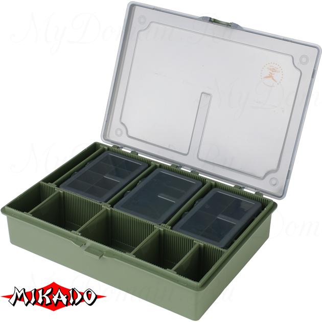Набор рыболовных коробок Mikado CA002-SET (27 x 20 x 5.5 см.), набор