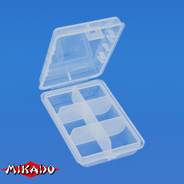 Коробочка рыболовная Mikado ABM 002 (9.7 x 6.6 x 2.5 см.), шт