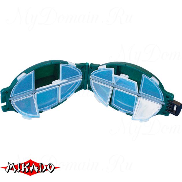 Коробочка рыболовная Mikado ABM 004 (11.2 x 7.4 x 3.2 см.), шт
