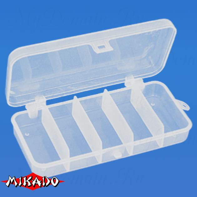 Коробочка рыболовная Mikado ABM 008 (13.2 x 6.2 x 2.5 см.), шт
