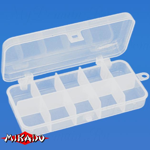 Коробочка рыболовная Mikado ABM 009 (13.2 x 6.2 x 2.5 см.), шт
