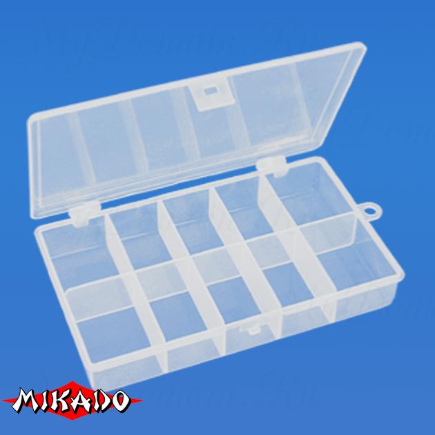 Коробочка рыболовная Mikado ABM 020 (18.0 x 10.9 x 3.0 см.), шт