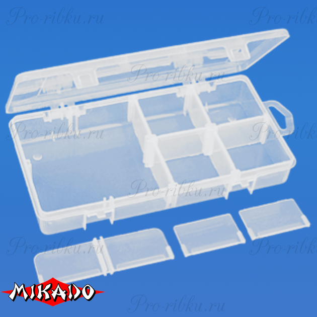 Коробочка рыболовная Mikado ABM 038 (20.8 x 10.8 x 3.3 см.), шт