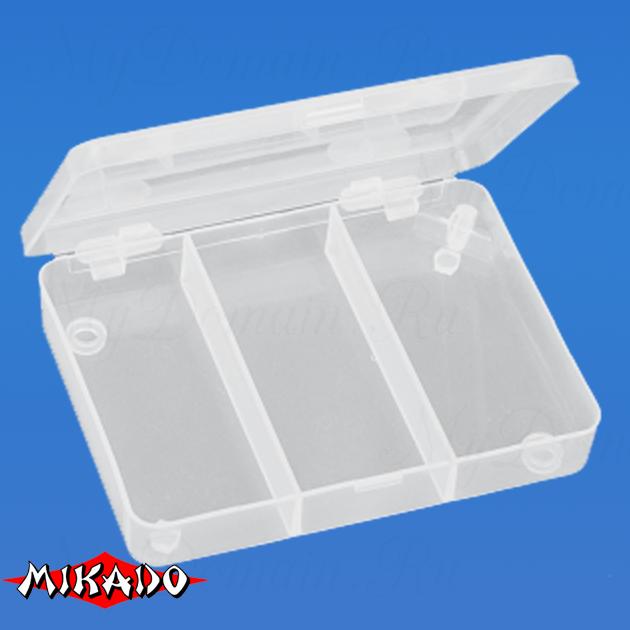 Коробочка рыболовная Mikado ABM 039 (11 х 8.3 х 1.8 см.), шт