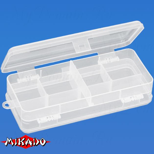 Коробочка рыболовная Mikado UAC-F005 (18 x 8.5 x 4.7 см.), шт