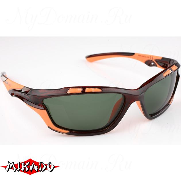Очки поляризационные Mikado 86005 (зелёные линзы), шт