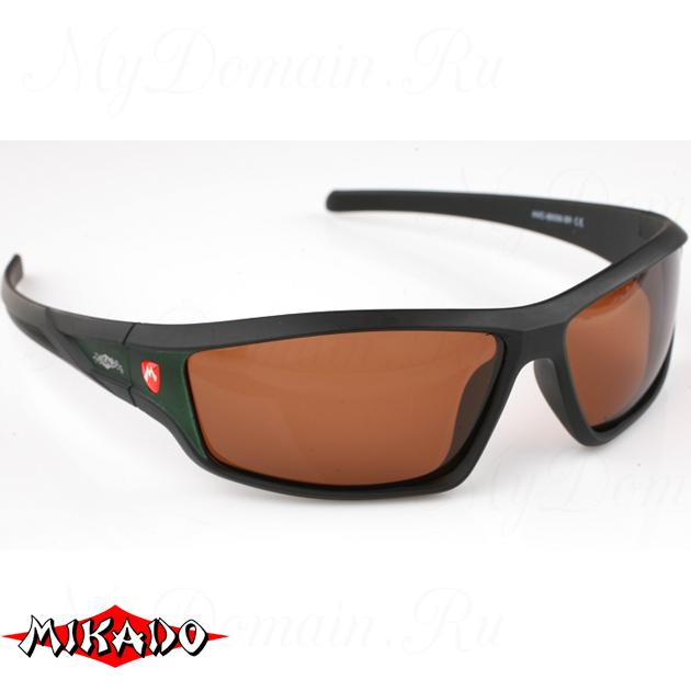 Очки поляризационные Mikado 86006 (коричневые линзы), шт
