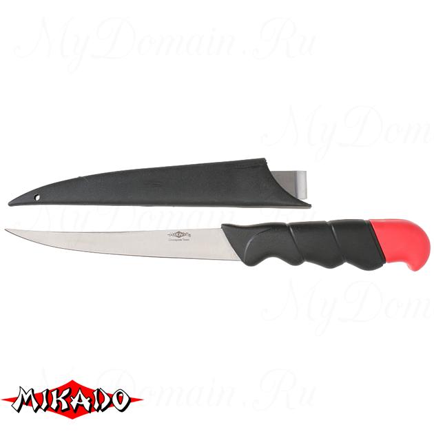 Нож рыболовный Mikado (лезвие 14 см.) AMN-60015, шт