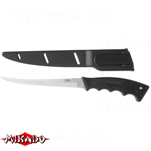Нож рыболовный Mikado (лезвие 15 см.) AMN-60013, шт