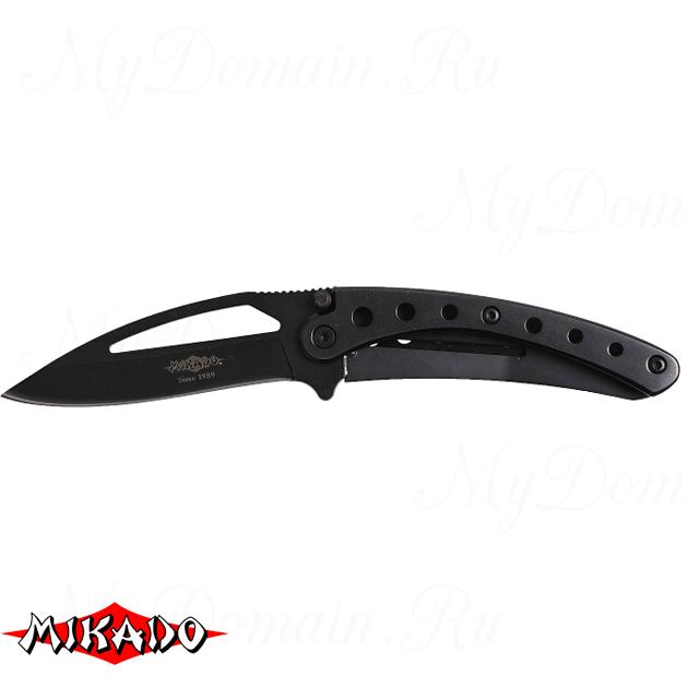Складной нож Mikado (чёрный) AMN-306, шт