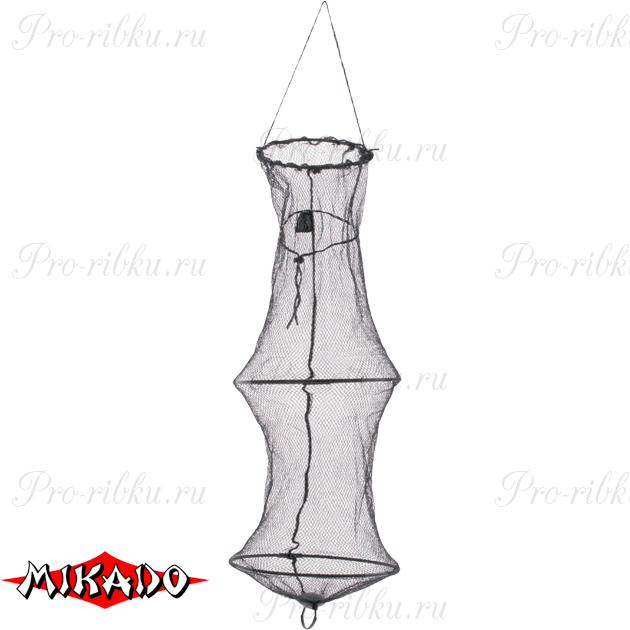 Садок рыболовный Mikado 30 / 80 см. нейлоновый, шт