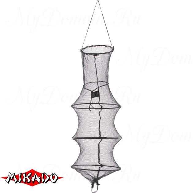 Садок рыболовный Mikado 30 / 80 см. нейлоновый_, шт
