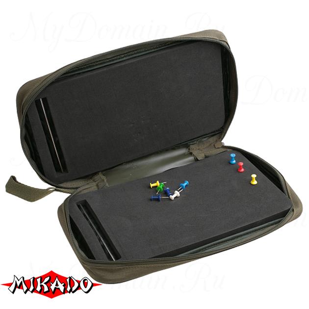 Пенал для карповых поводков Mikado AIX-0395A, шт