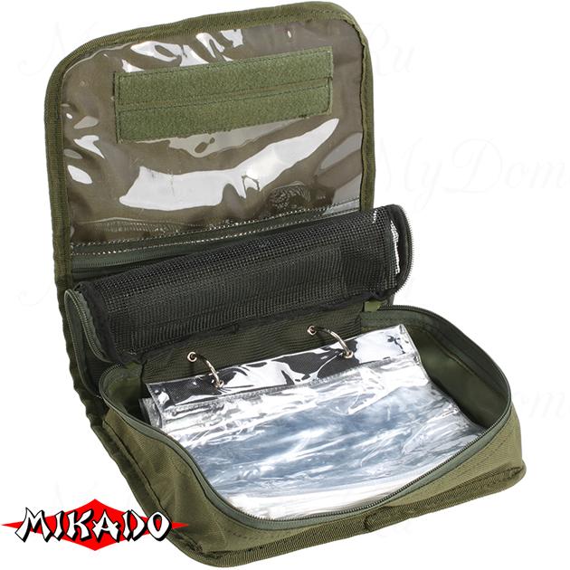 Сумка для рыболовных принадлежностей Mikado UWI-252013 (25 x 20 x 7.5 см.), шт