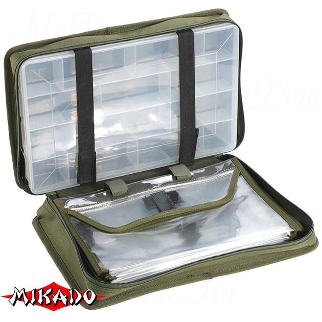 Сумка для рыболовных принадлежностей Mikado UWI-372504 (37 x 25 x 9.5 см.), шт