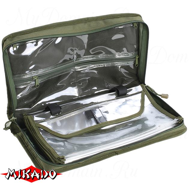 Сумка для рыболовных принадлежностей Mikado UWI-402106 (40 x 21 x 6 см.), шт