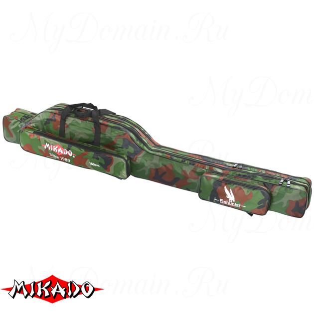 Чехол для удилищ Mikado 2 секционный 150 см. камуфляжный, шт