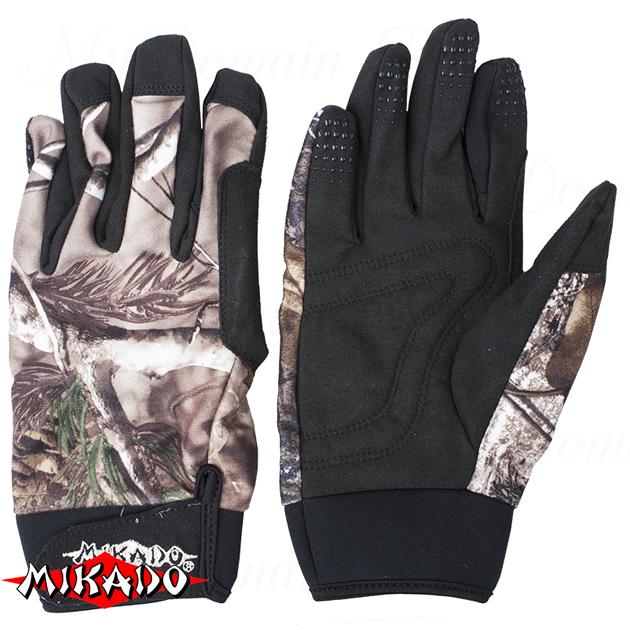 Перчатки рыболовные Mikado UMR-09 размер L, шт