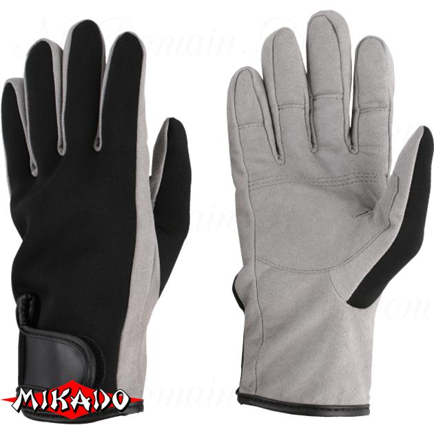 Перчатки рыболовные неопреновые Mikado UMR-05 размер XXL, шт
