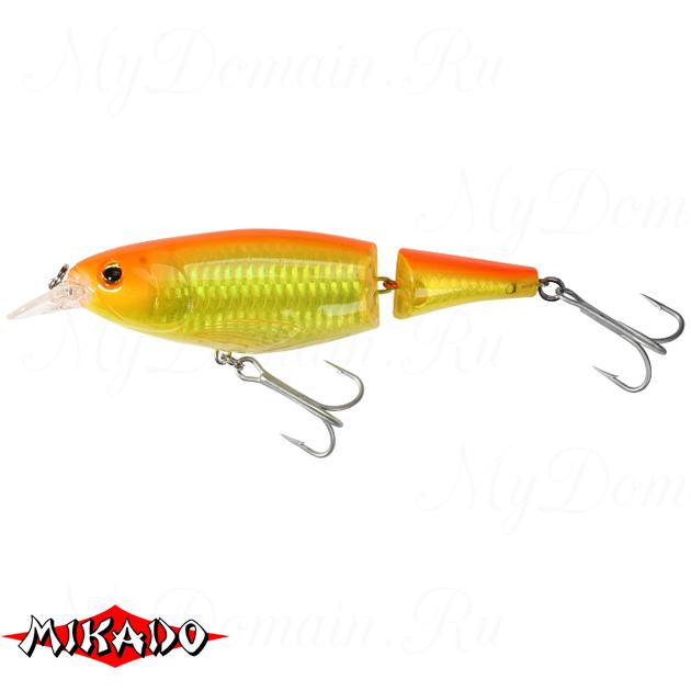 Воблер Mikado JOINTED PADDLE FISH 13 см. / 08 - плавающий, шт